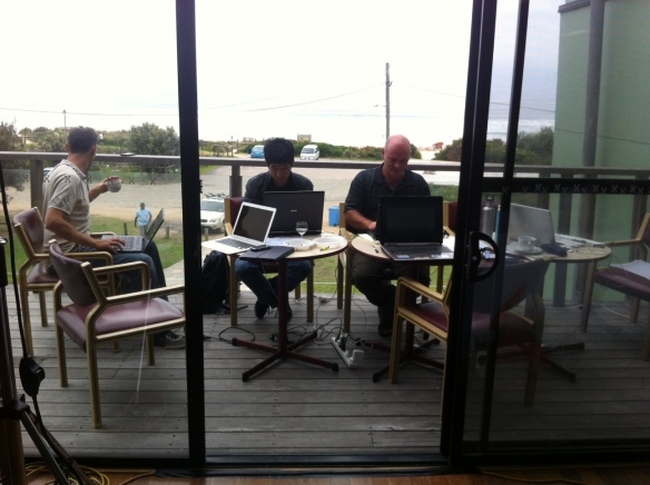 "The ""Little Look"" team, working in the best startup space in Australia."